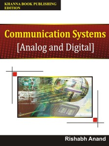 Communication Systems\n[Analog and Digital] 1st  Edition English, Paperback, Rishabh Anand 9789381068342 available at Flipkart for Rs.308