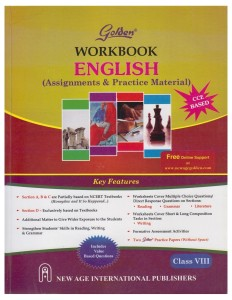 Golden Workbook English Assignments and Practice Material Class 7