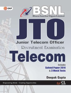 BSNL J.T.O (TELECOM) INCLUDES SOLVED PAPER 2014 & 3 MOCK TESTS price comparison at Flipkart, Amazon, Crossword, Uread, Bookadda, Landmark, Homeshop18