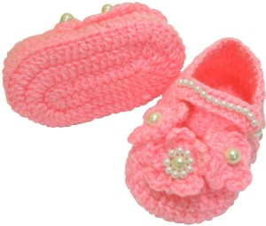 cac0900dc0b9 Graykart Pink booties infant shoes pre Walker Booties Toe to Heel ...
