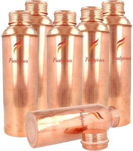 Frabjous 100% pure copper joint free set of 6 each ) 900 ml Bottle