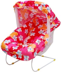 294dd70ea Mofaro Pink Baby Bouncer Cum Carry Cot With Baby Gym Pink Multicolor ...
