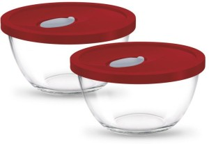 Treo Mixing Bowl With Lid Glass Bowl Set