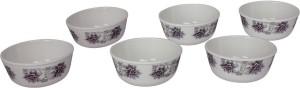 White Gold PURPLE BEAUTY Melamine Bowl Set