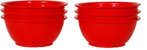 Day2Day Trendy Collection Plastic Bowl Set