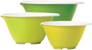 Chefn Sleekstor Nesting Silicone, Plastic Bowl Set