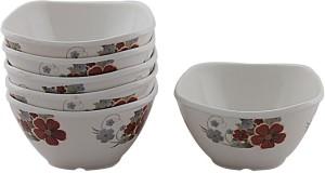 White Gold Forever Melamine Bowl Set