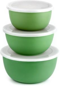 Winsky Stainless Steel, Plastic Bowl Set