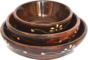 Woodino Handicrafts Wooden Bowl Set