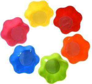 TRUENOW VENTURES Pvt. Ltd Round Shape Multicolor Melamine Kitchen/Dining Snack Bowl Set Of 6 Melamine Bowl Set
