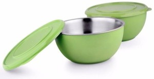 Lavi Classic Cook & Serve Multi-Purpose Stainless Steel, Plastic Bowl Set