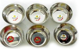 Mango Steel Mukta 5.5 Stainless Steel Bowl Set