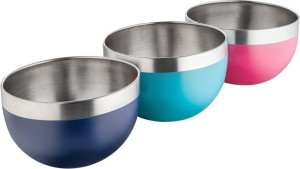 Caryn kitchen classy Steel Bowl Set
