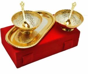 Starr traders DECORATIVE BOWL SET (5 PC.) Brass Bowl Set