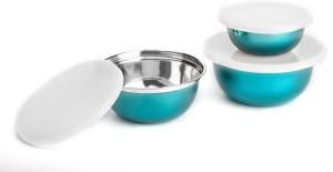 meenamart kitchen king Steel, Plastic Bowl Set