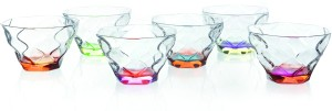 RCR Riflessi Color Small Set Glass Disposable Bowl