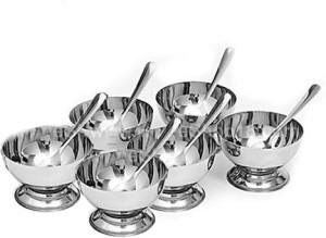Aditya Info Stainless Steel Bowl Set