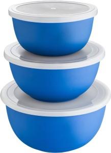 Lavi Microwave safe classic cook & Serve multipurpose Plastic, Stainless Steel Bowl Set