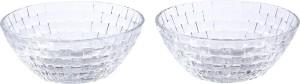 Serenus Homes Saphire Crystal Glass Bowl Set