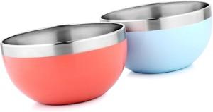 Winsky Shubh Stel Set Of 2 Multi Purpose Stainless Steel Bowl Set