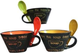 Dharmaraj Links Porcelain Bowl Set