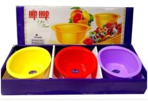 Xudo INTERNATIONAL Microfibre Bowl Set Plastic Disposable Bowl Set