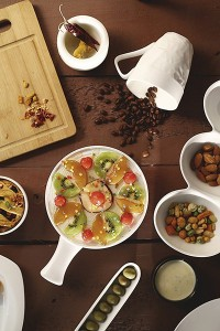 Sivica Pie Porcelain Bowl Set