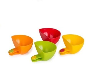 Vmore 4pcs Multi-purpose Mini Kitchen Dish Plate Cap Clips Plastic Bowl