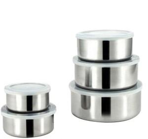 Lavi Shubh Silk Healthy & Hygienic Stainless Steel Bowl Set