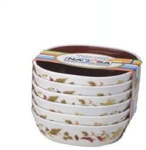 Nayasa Microfresh Square - Deluxe Plastic Bowl Set