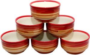 Stonish ceramic/handmade katori in multi- colour Stoneware Bowl Set