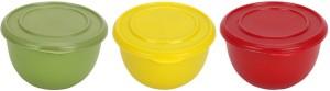 Lavi Kitchen Classic Steel, Plastic Bowl Set