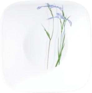 Corelle Square Round Shadow Iris 1.4 Ltr Glass Bowl