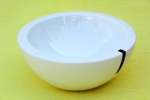 Devnow Double Wall 25cm Glass Bowl