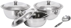 Apricot Stainless Steel Bowl Set