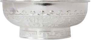 Sambhav Products Dragon Bowel small Silver Plated Bowl