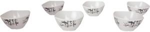 White Gold BAMBOO Melamine Bowl Set