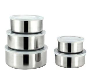 Lavi Healthy & Hygienic Food Storage Stainless Steel Bowl Set