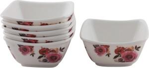 White Gold Rosemarry Melamine Bowl Set