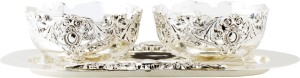 Prachin Silver Plated Bowl Set