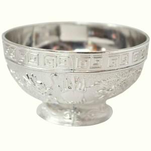 Sambhav Products Dragon Bowel Medium Silver Plated Bowl