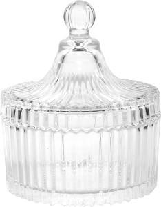 Serenus Homes Crystal Candy Jar Glass Bowl