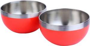 Homeish Stainless Steel Color Coated Bowls Stainless Steel Bowl Set