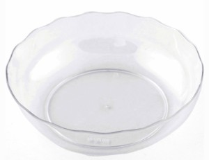 BuyersChowk 80 ml Lace Round Plastic Disposable Bowl