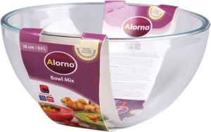 Alorno Microwave & Oven Safe Mixing Bowl 0.9 Ltr Borosilicate Glass Bowl