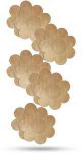 1b15e6a9f9af Blush Hearts No-Show Concealers (Disposable) Flower Shape Muslin Peel and  Stick Bra