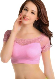 9b9f815679 PrivateLifes Fashion Blouse Women s Bralette Pink Bra Best Price in India