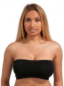 64bf530df173b Secret World Women s Tube White Black Bra Best Price in India ...