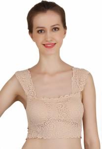 4554266a9c Ploomz by Ploomz fashion Women s Bralette Beige Bra Best Price in India