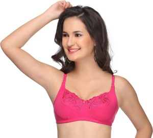 a0e19ff6ab Alishan Women s Full Coverage Pink Bra Best Price in India